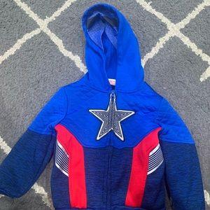 Captain America Hoodie 3T
